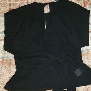 Womens small black shirt.